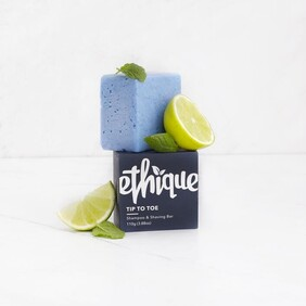 Ethique Tip to Toe - Shampoo & Shaving Bar