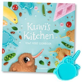 Kuwi the Kiwi - Kids Cookbook